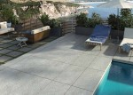 Terrace Tile QS Grey 120X60X2cm Second Choice
