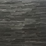 Decorative Slate Stone - Black 10x40
