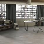 Porcelain tile Grove wood Grey 90x15x0,8 cm