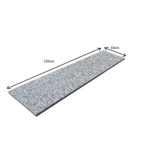 Flamed Grey Step G603 150x33x2 PRESALE