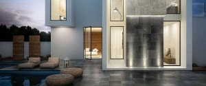Porcelain Tile Mile Stone Carbon Black 60X60X2cm