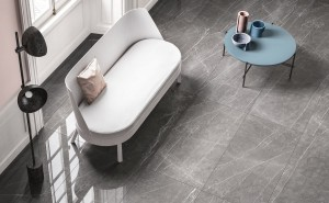 Polished Porcelain Tile Marble Lab Pietra Grey 60X30x08cm