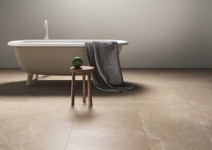 Polished Porcelain Tile Marble Lab Noble Ecru 60X60x08cm