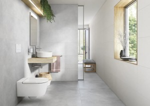 Porcelain Tile Couvet Grey 80x80x1