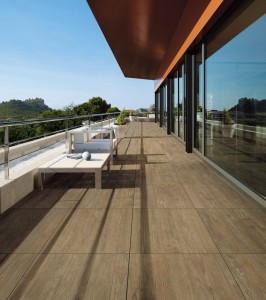 Porcelain Tile AXI BROWN 120x40x2cm