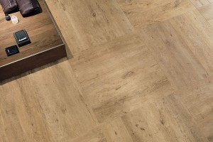 Porcelain Tile Axi Golden Oak 60x60x2