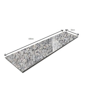 Windowsill / Polished Grey Step Natural Grey 150x33x2