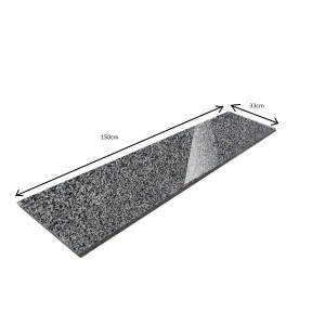 Windowsill/ Polished Granite Step Dark Grey New G654 150x33x2