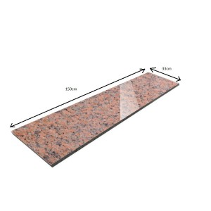 Windowsill/ Polished Granite Step Maple Red 150x33x2