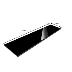 Polished Granite Step Absolut Black New 150x33x1,8 PRESALE