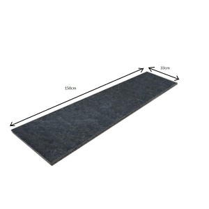 Flamed Granite Step Absolut Black New  150x33x1,8 PRESALE