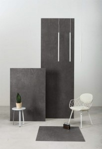 Large Format Porcelain Slab Urban Great Anthracite 300 cm x 100 cm