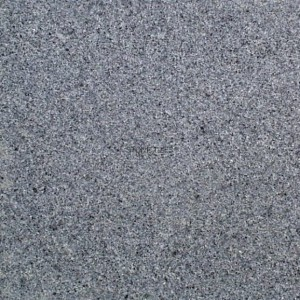 Granite tile - dark grey - flamed - G654 60x60x2