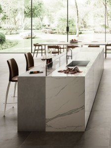 Large Format Porcelain Slab Calacatta Extra Natural Vein  324 cm x 162 cm x 2cm polished