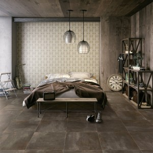 Porcelain tile Radical Shabby Brown 60x60x0,6cm Second Choice