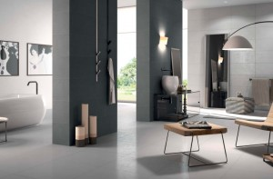 Porcelain Tile Just Dark Grey 120 cm x 60 cm x 1 cm  Second Choice