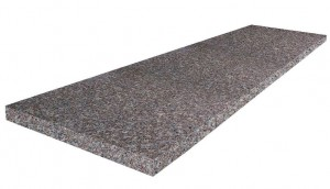 Flamed Step - Dark Red and Grey G664 150x33x2