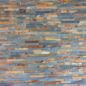 Decorative Slate Stone - Multicolor 10x40