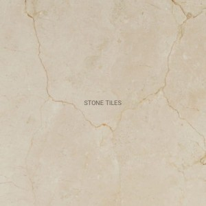 Polished marble tile Crema Marfil 60x60x2cm