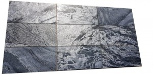 Honed Quartz Tile Silver Grey 60x30x1,2 cm