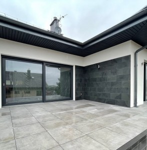 Black Slate Tile - natural - brushed 60x30x1,2