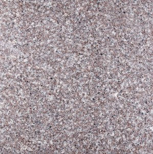 Granite tile - dark red - flamed - G664 60x60x2 (1)