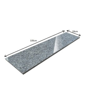 Grey Quartz Window sill - polished - G603 150x33x2 PRESALE